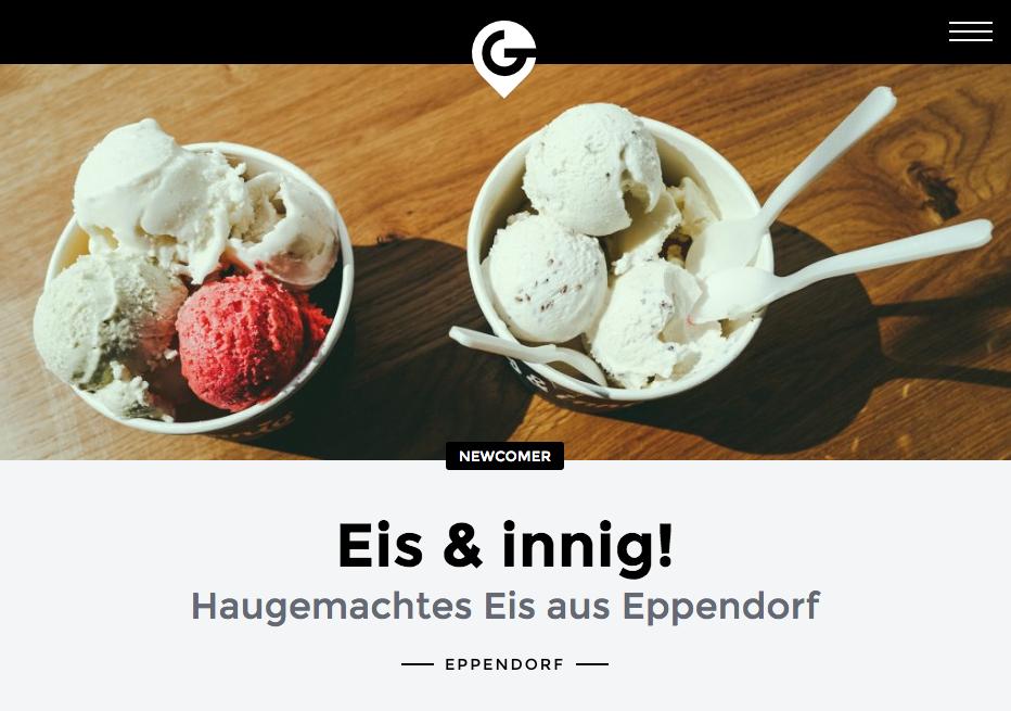 Eis & Innig Screenshot Geheimtipp Hamburg Blogbeitrag