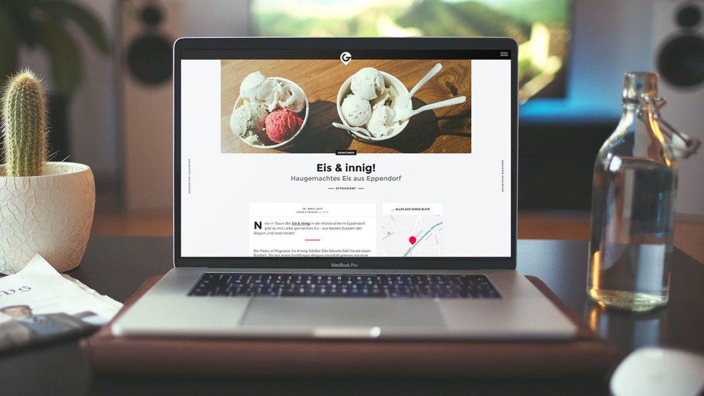 Lokales Marketing Kooperation Eis & innig