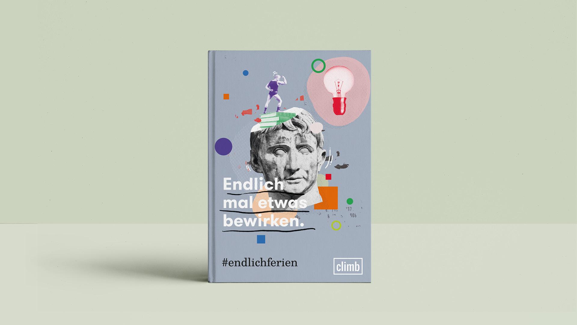 climb Lernferien Notizbuch Merchandise