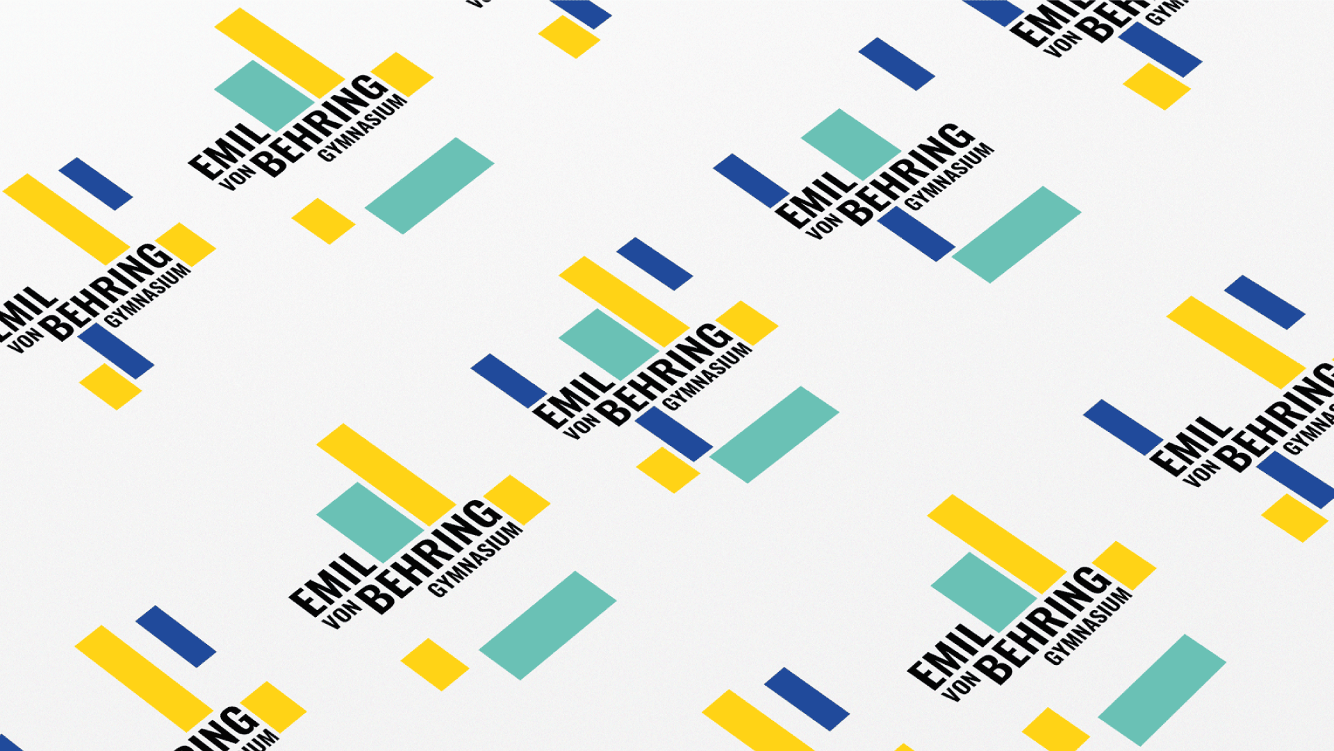Emil-von-Behring Gynmasium Logoaufbau