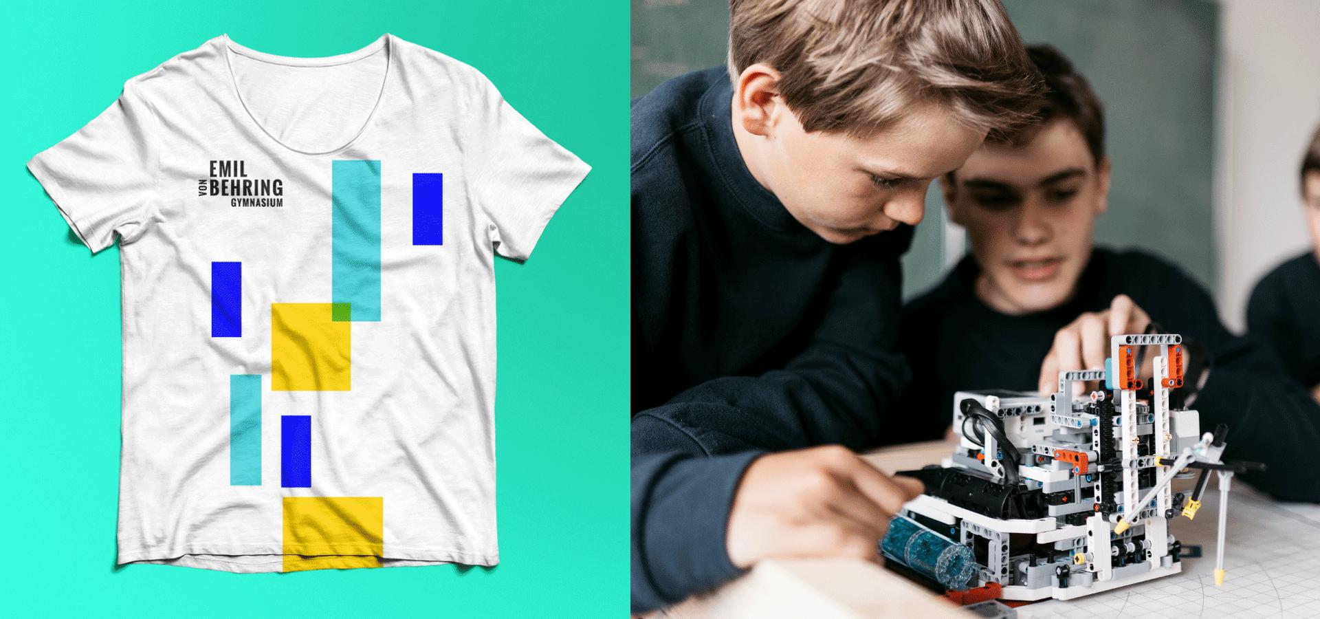 Emil-von-Behring Gynmasium Merchandise T-Shirt