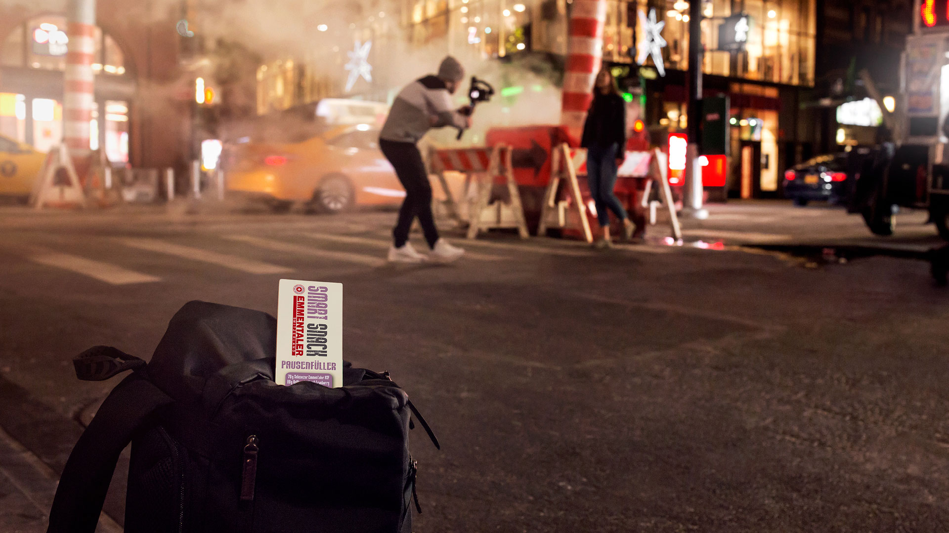 Emmentaler Smart Snack Shooting New York