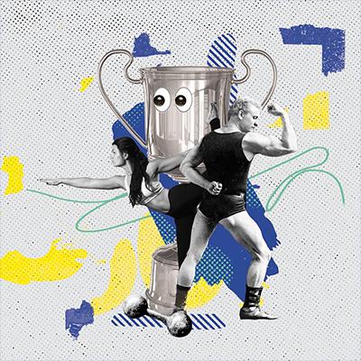 Illustration Weider Collage