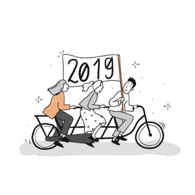 Illustration SOLVIN Kalender 2019