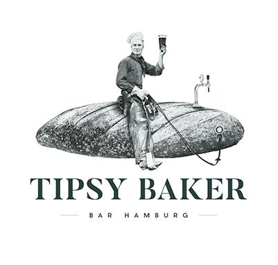 Tipsy Baker Bar Hamburg Logo