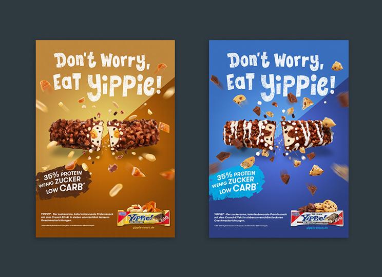 Branding Kampagne Yippie Weider