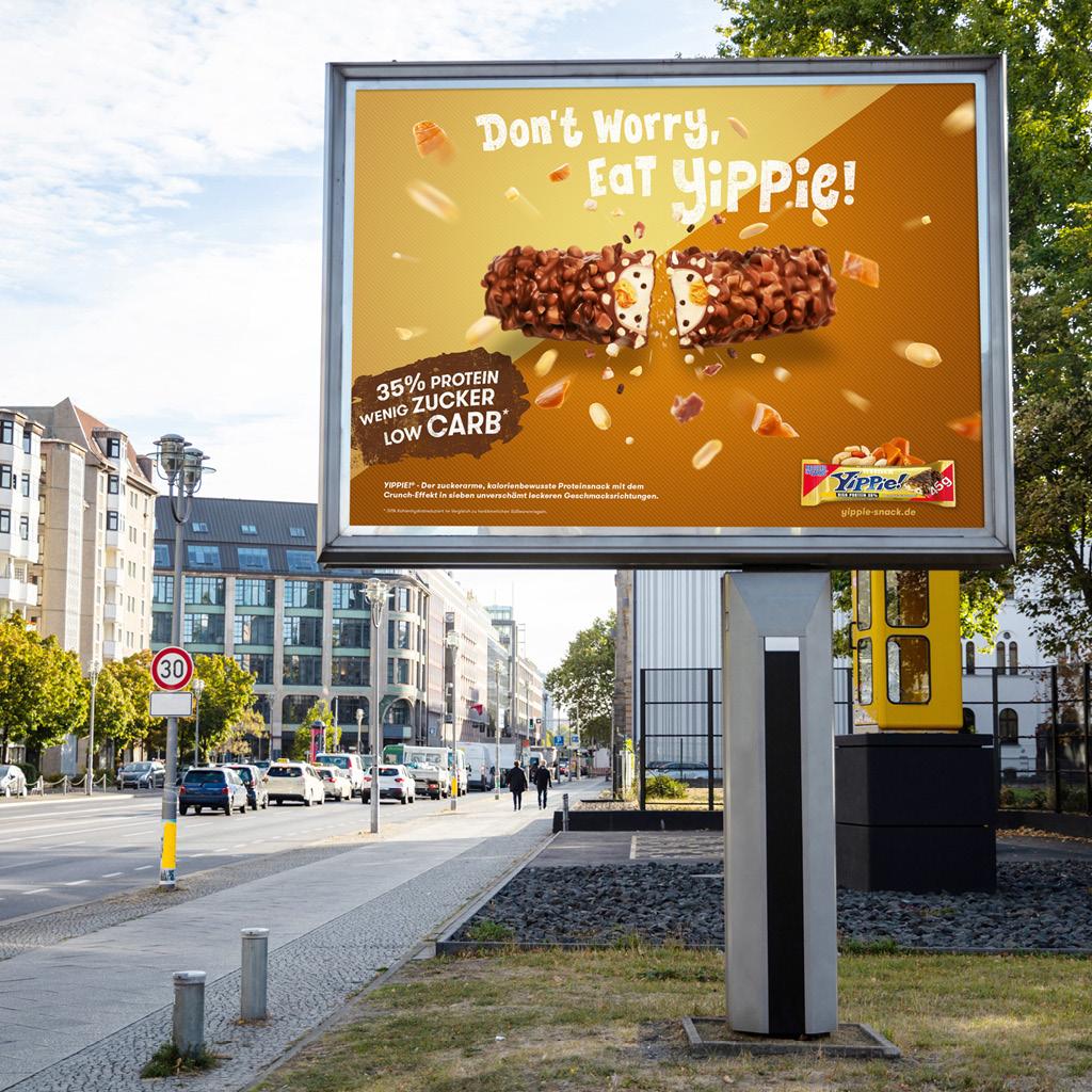Yippie! Riegel Plakat in Hamburg Thumbnail