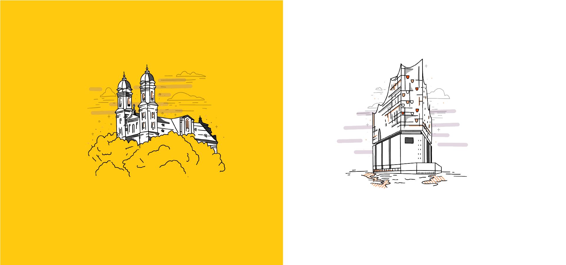SOLVIN Roll-Up Illustrationen