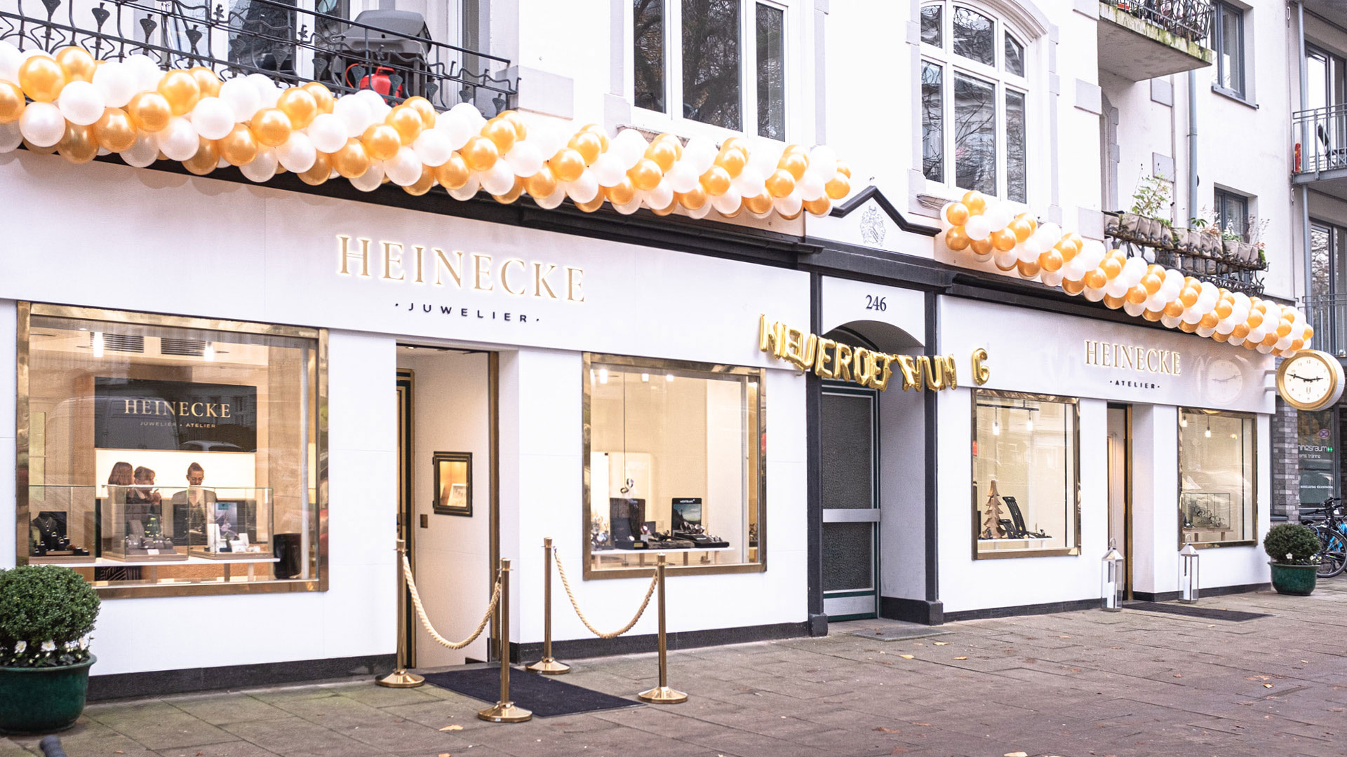 Heinecke Interior Design Storefront Eröffnung