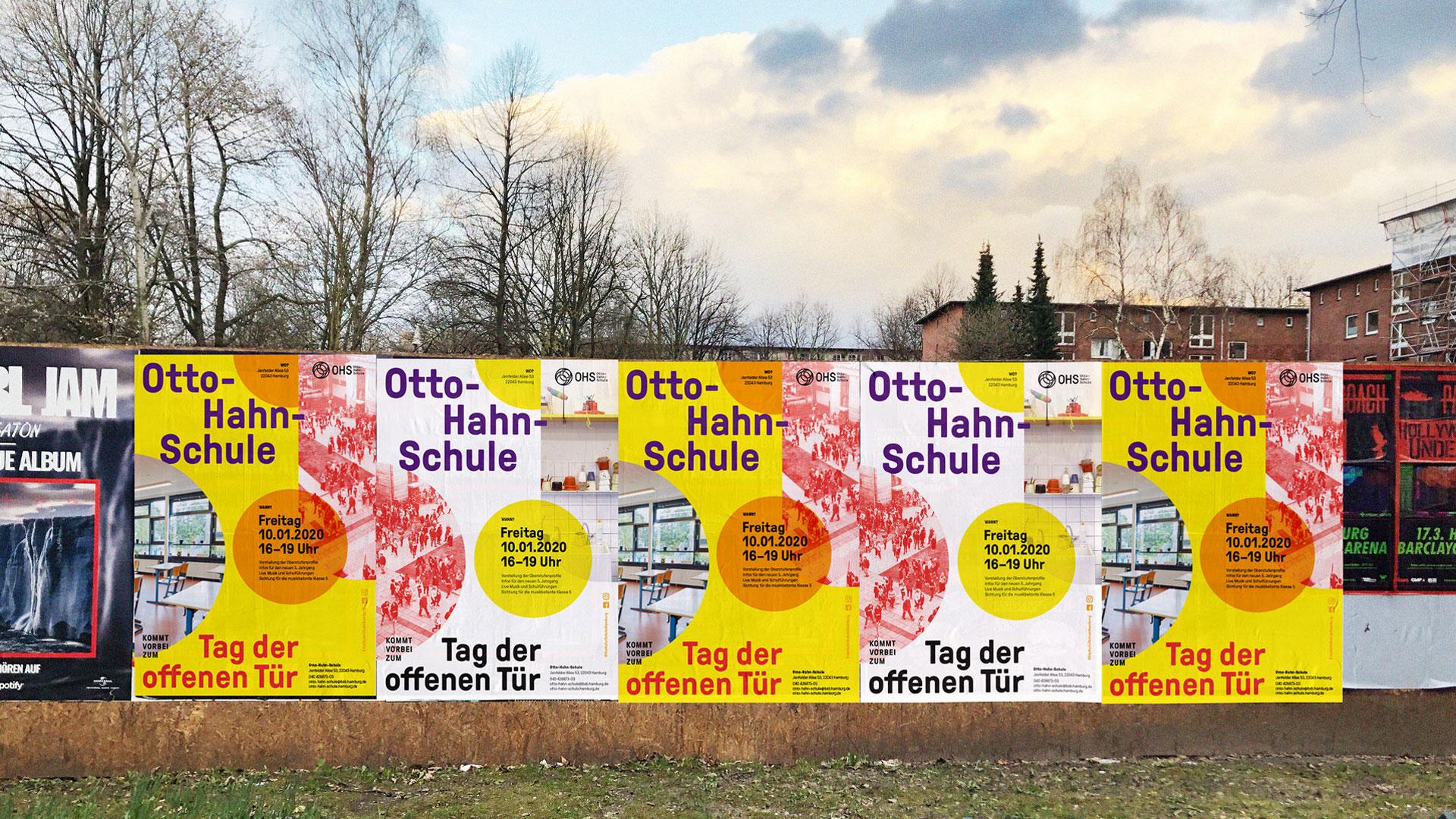 Otto-Hahn-Schule Tag der offenen Tür Plakat