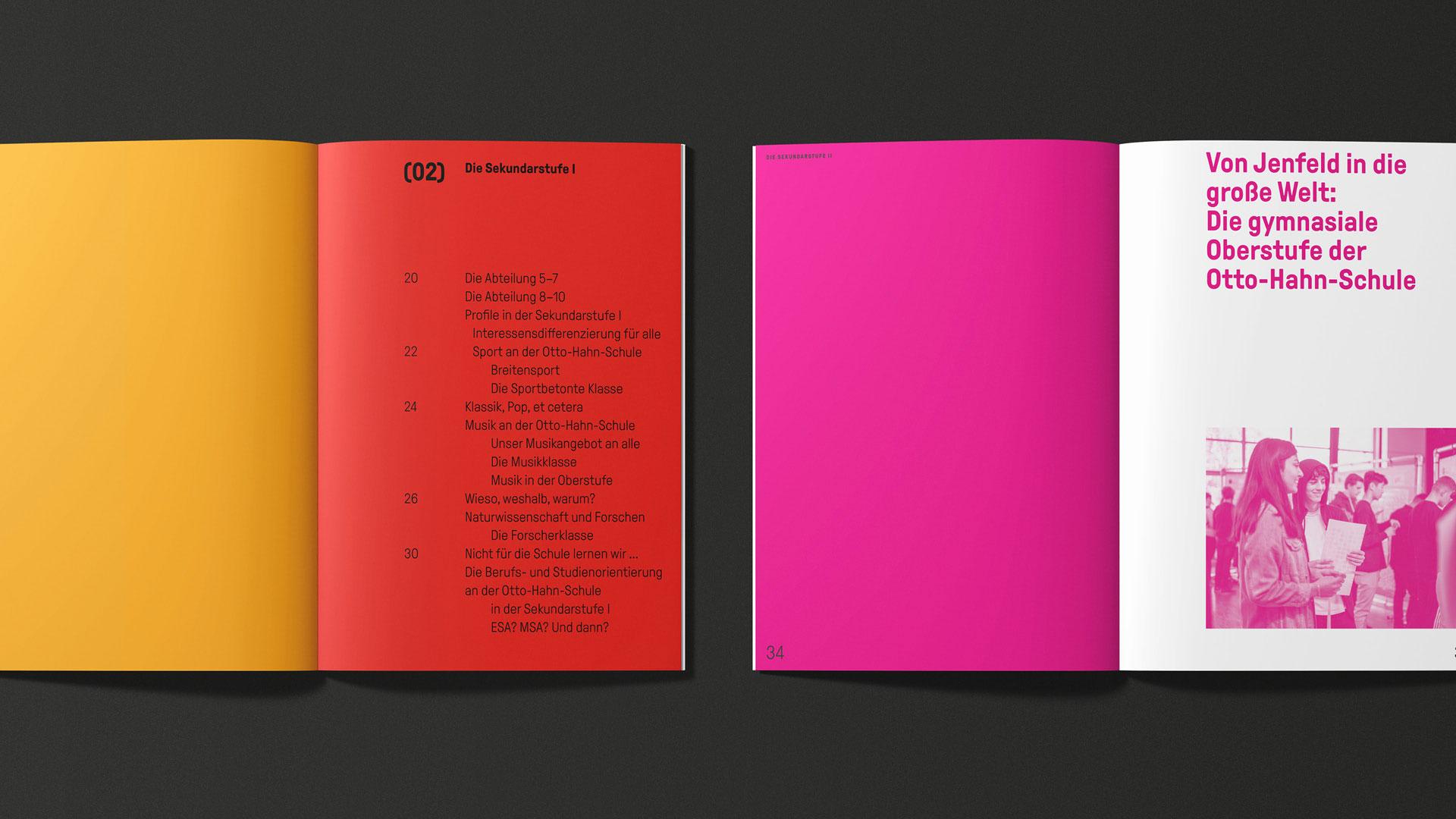 Otto-Hahn-Schule Brand Design Layout 1