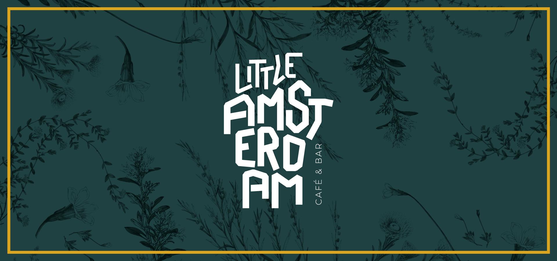 Little Amsterdam Logo mit Pattern