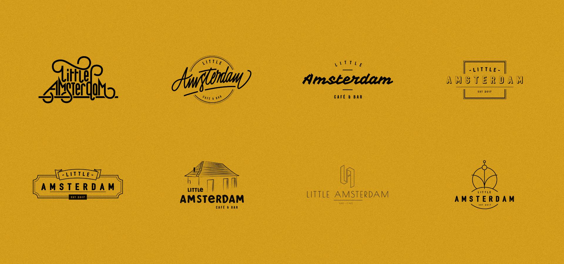 Little Amsterdam Hamburg Logoentwürfe