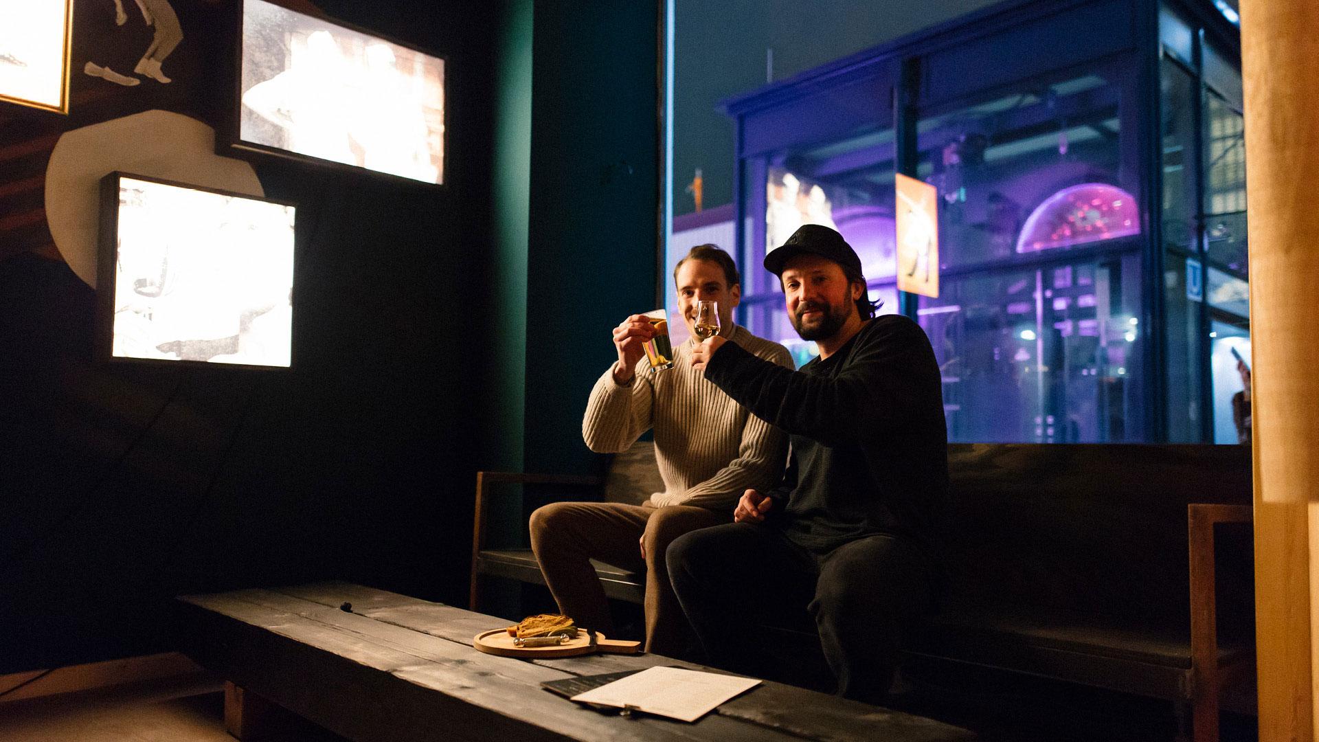 Tipsy baker Bar Hamburg Inhaber Bruno Kilzer und Benjamin Lang