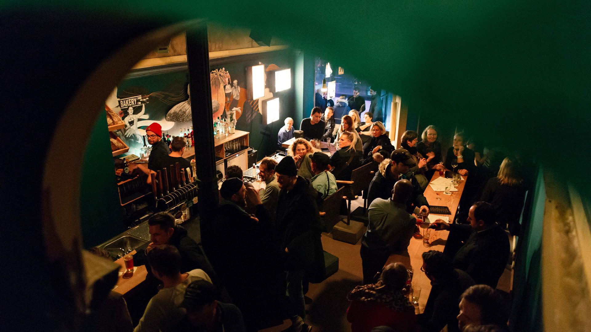 Tipsy baker Bar Hamburg Shooting Eröffnungsabend