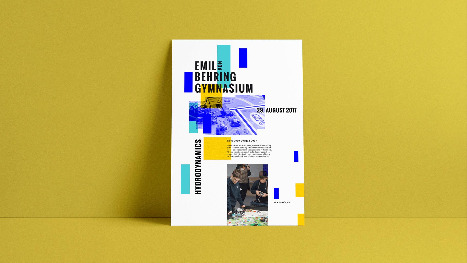 Emil-von-Behring Gynmasium Poster
