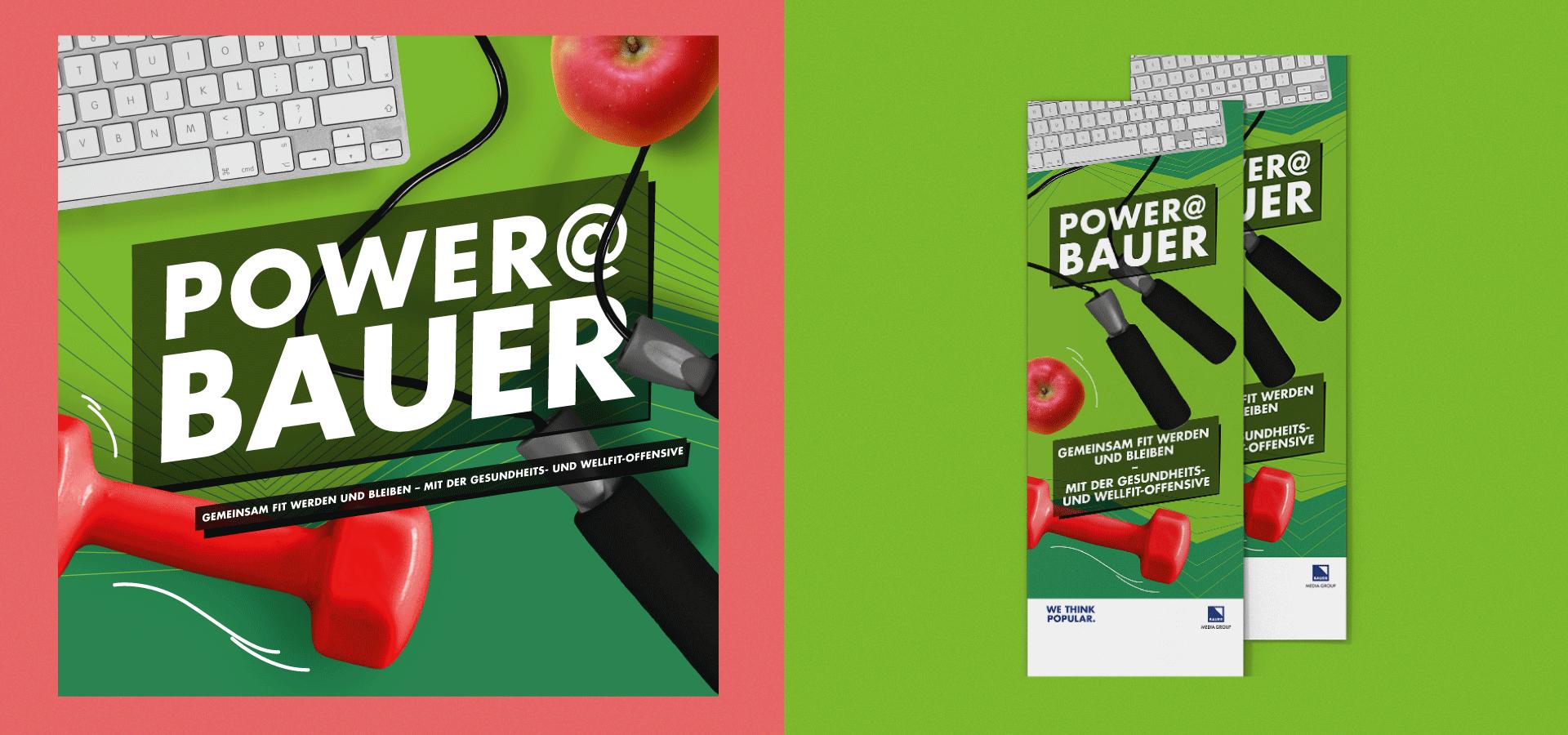 Bauer Media Group Power@Bauer Flyer