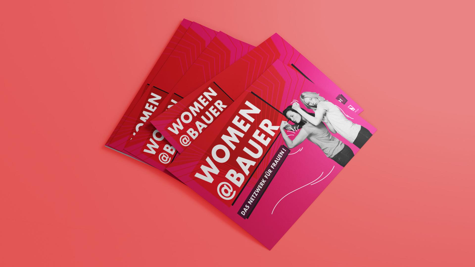Bauer Media Group Women @Bauer Postkarte