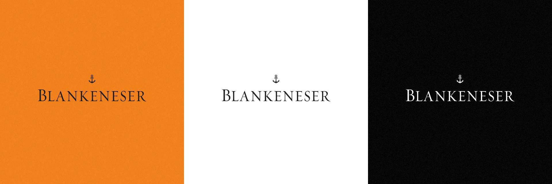 BLANKENESER Wortmarke Farbvarianten