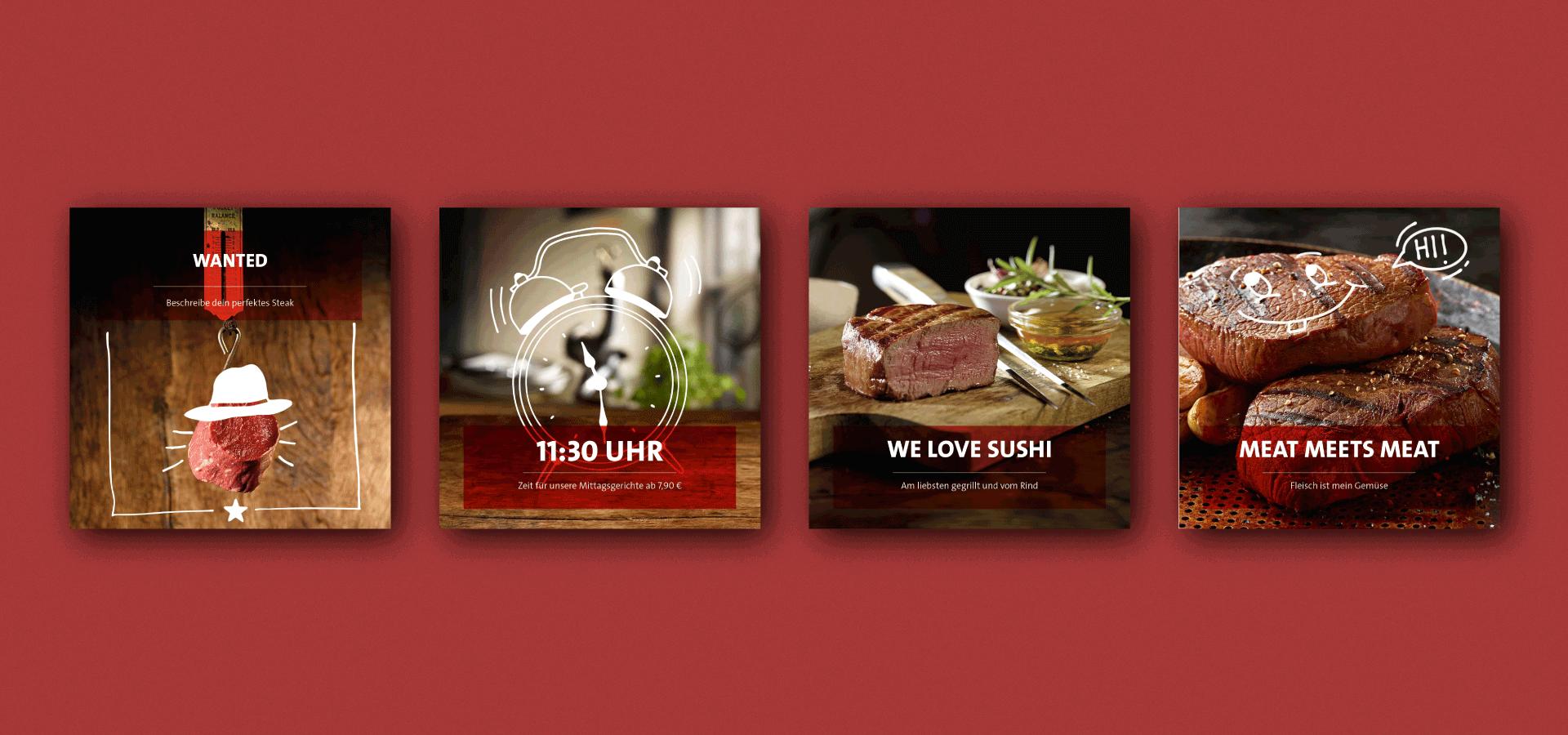 "MAREDO Posting Beispiele "" We love Sushi"""