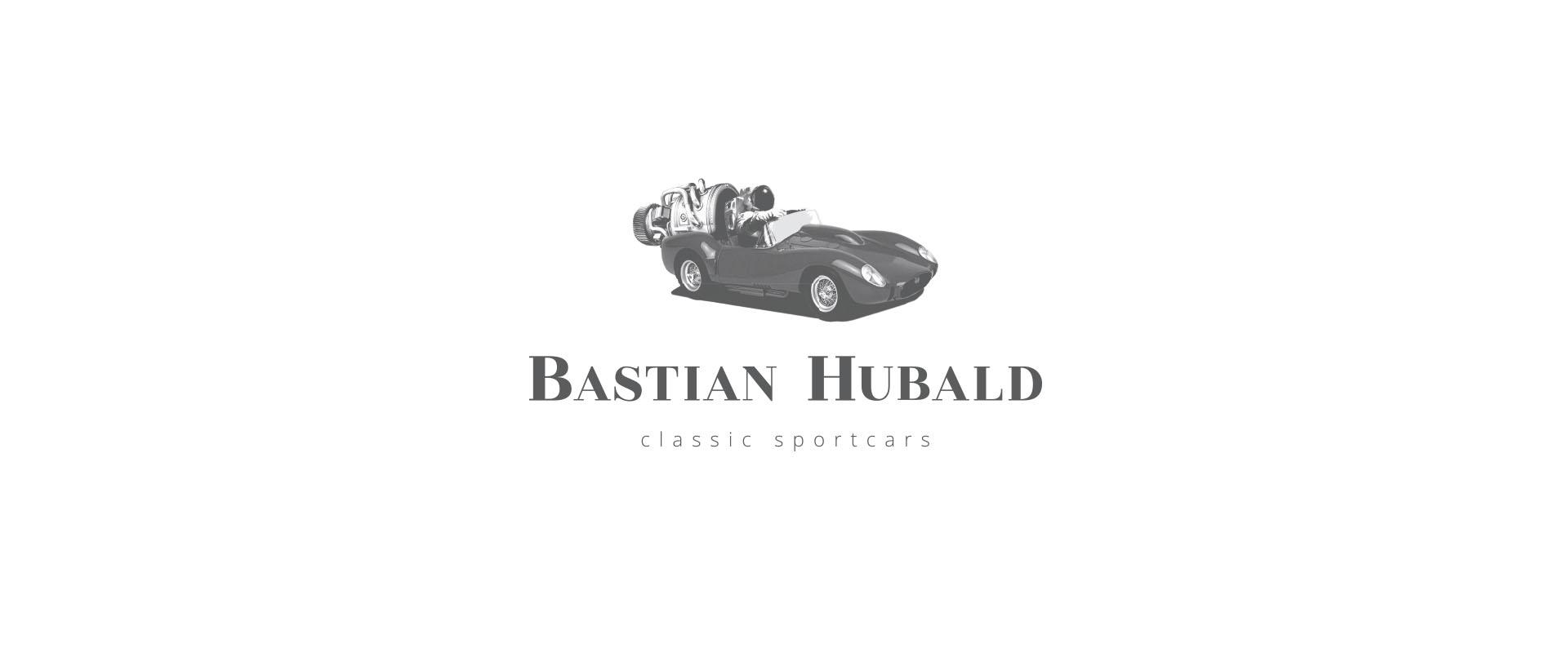 Bastian Hubald Logo grau