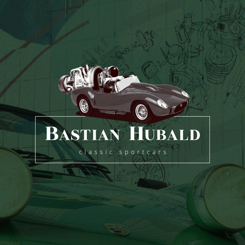 Bastian Hubald Logo helleres grün