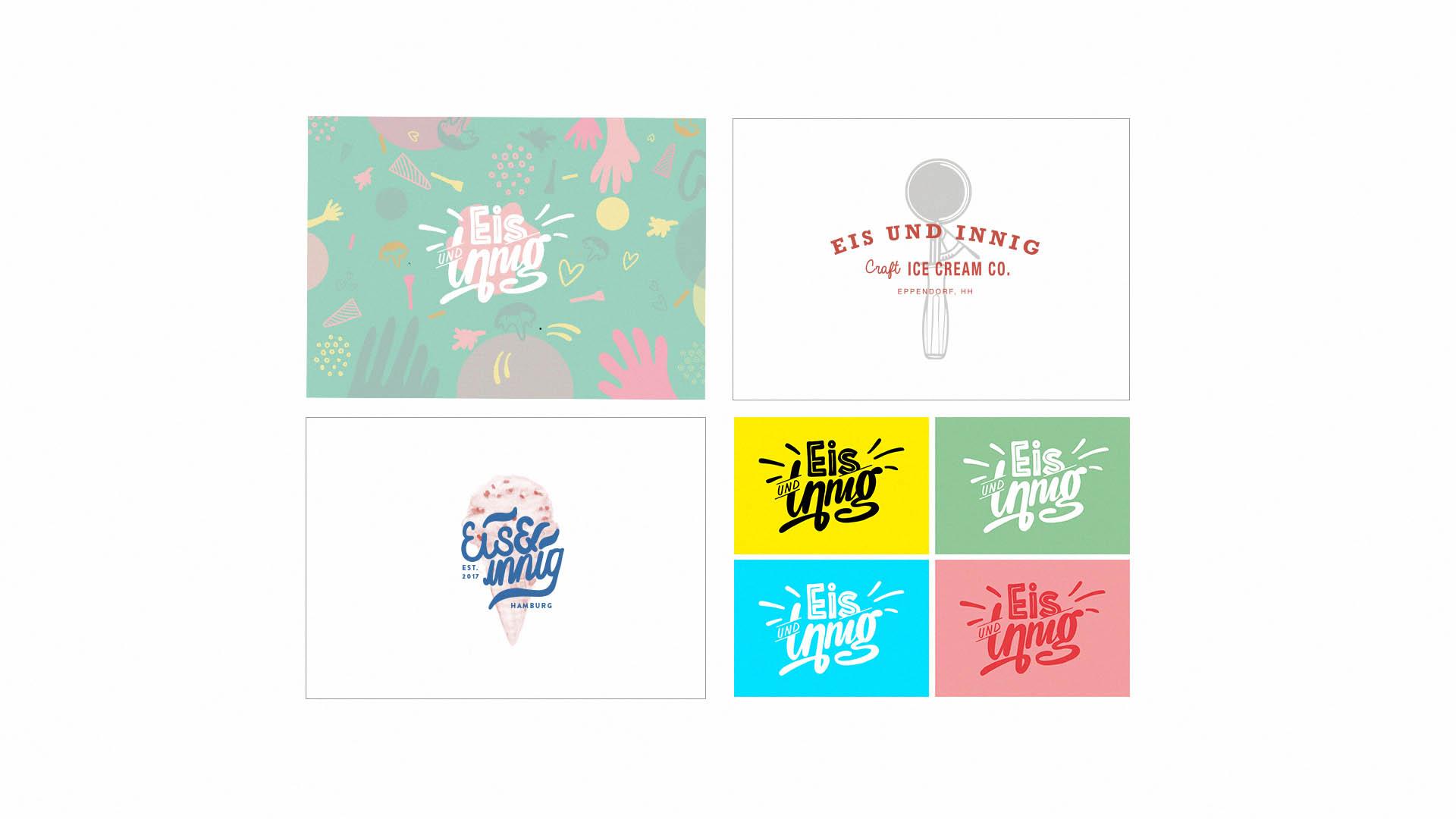Eis & innig Logovarianten