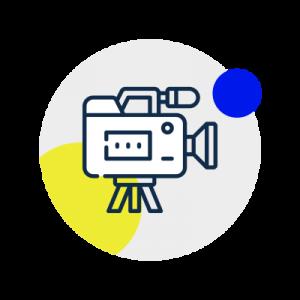 Content Creation Icon Video