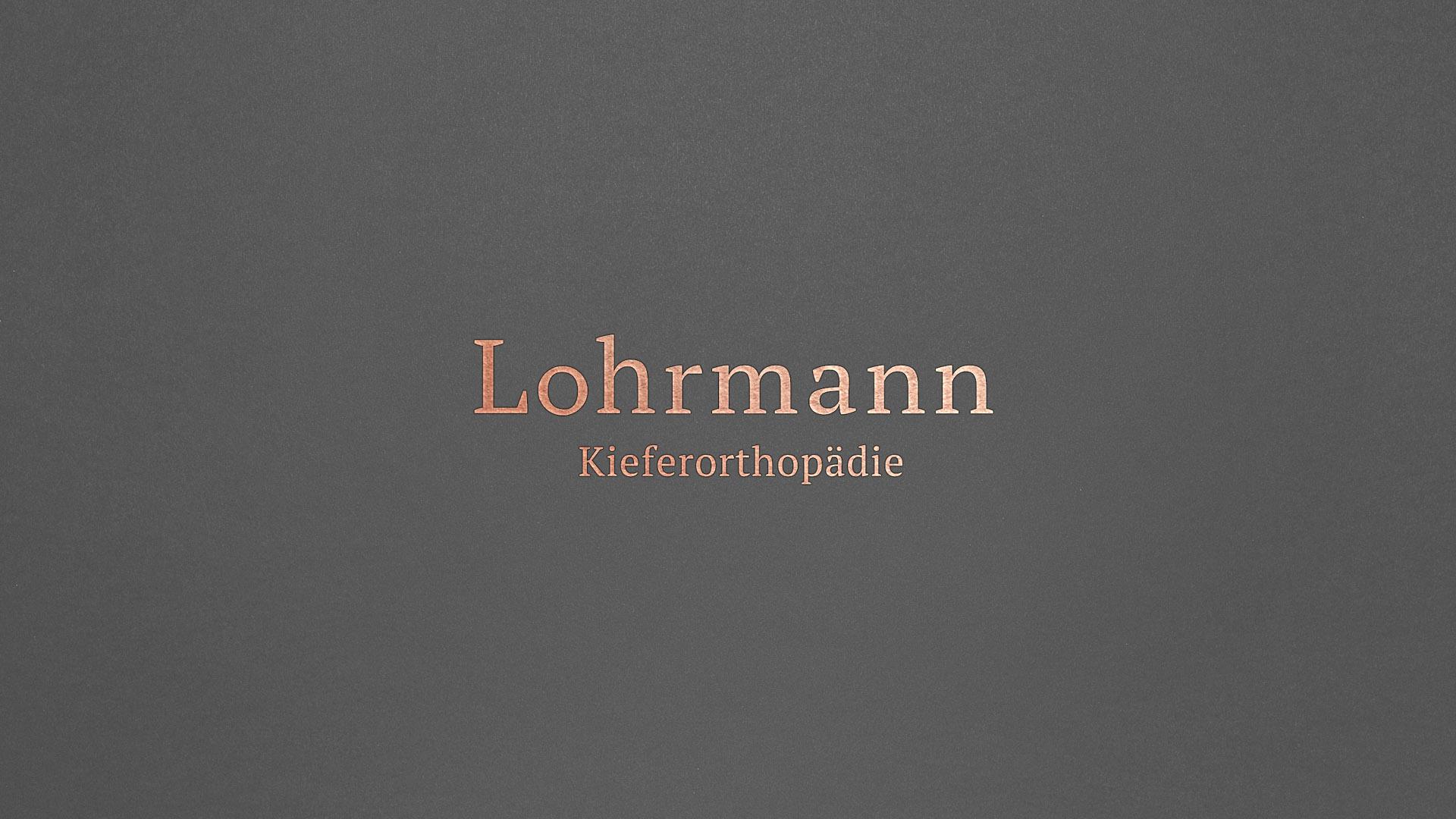 Kieferorthopäde Lohrmann Design