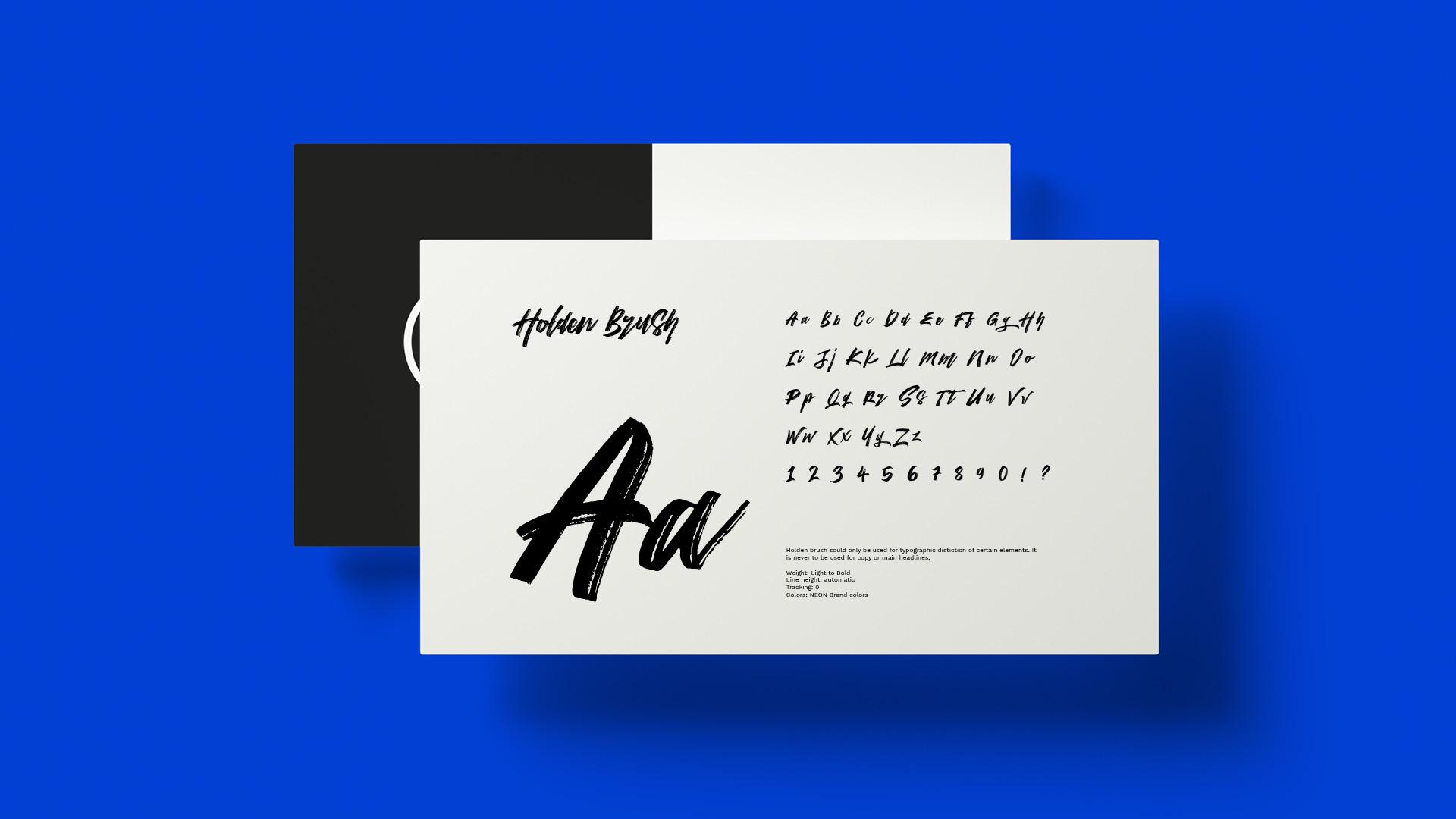 Design Lettering Neon